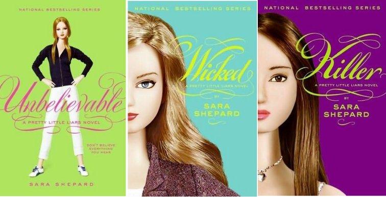 Review: Pretty Little Liars # 4 – 6 by Sara Shepard